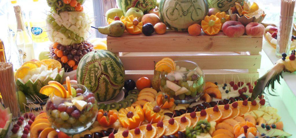 Bufet owocowy Leśna Nuta Kiejsze