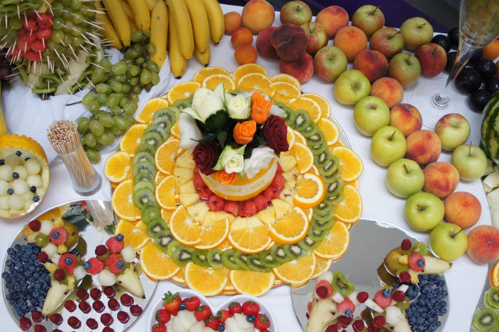 Bufet owocowy, dekoracje owocowe Poznań, Warszawa, Koło, Słupca, Września