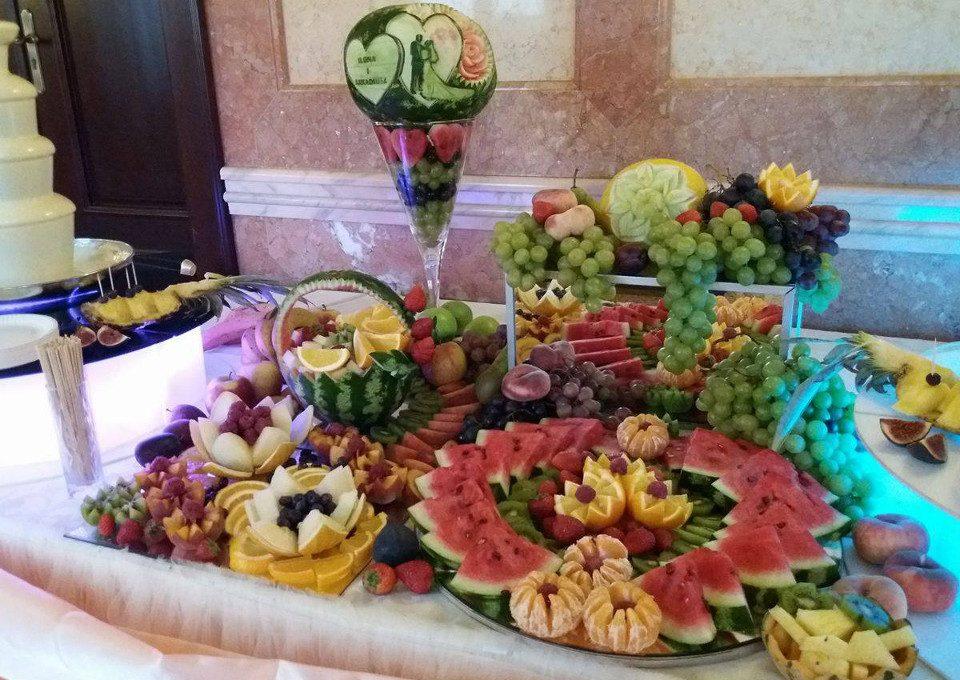 Bufet owocowy, palma owocowa, fontanna czekoladowa Koło, Kłodawa, Sompolno, Konin