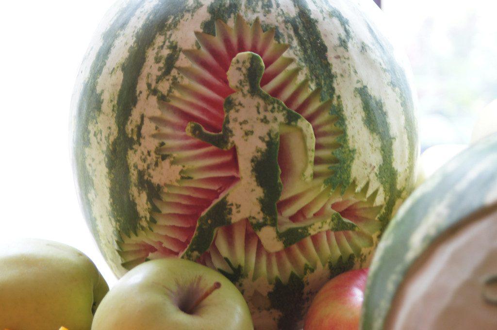 Stół owocowy, dekoracje owocowe, carving Leśna Nuta, Kiejsze