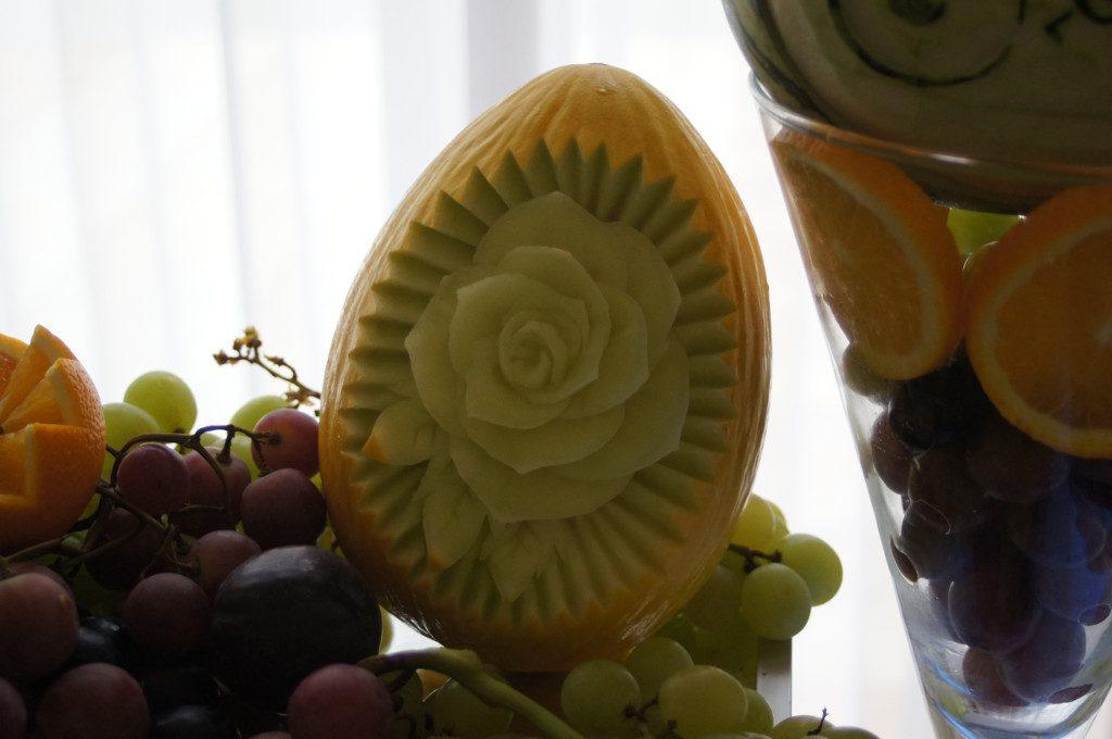bufet owocowy, dekoracje owocowe Poznań, Warszawa, Kalisz