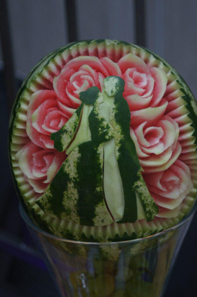 dekoracje owocowe, carving Koło, Turek