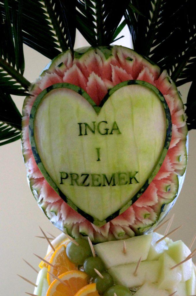 fruit carving, dekoracje owocowe Koło, Turek, Kłodawa