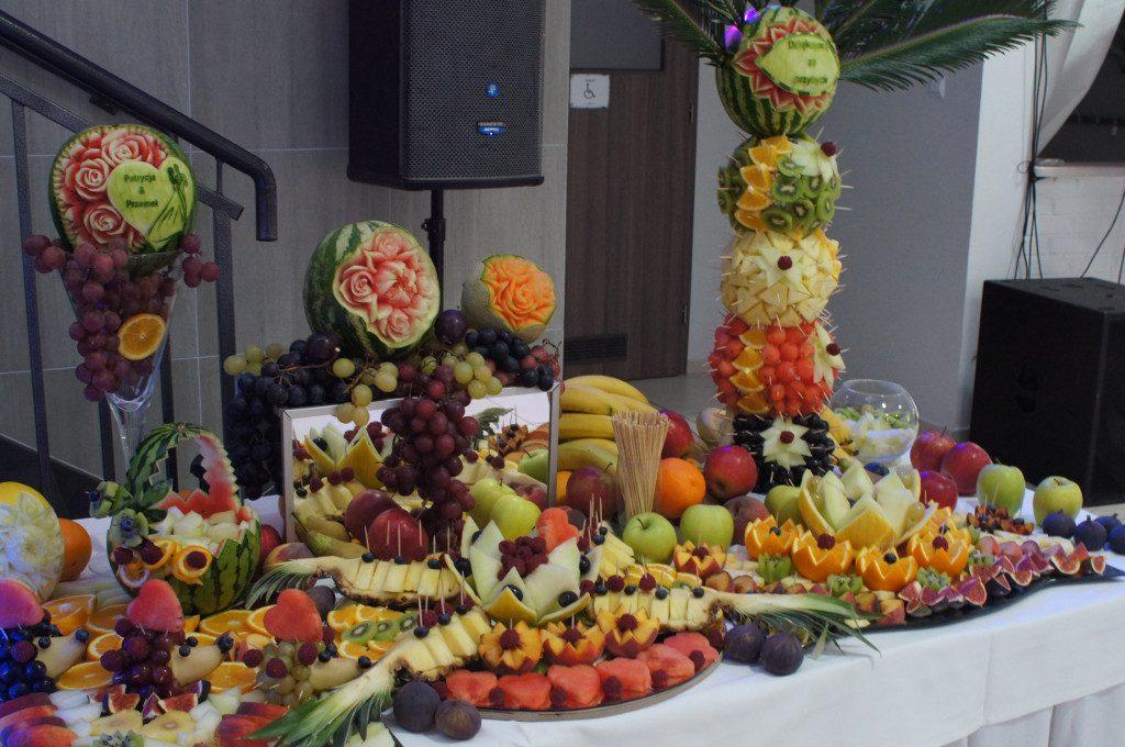 bufet owocowy, carving Koło, Turek, Sompolno, Warszawa, Łódź
