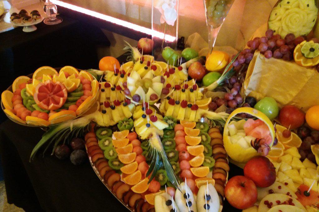 dekoracje owocowe, bufet owocowy 18-stka Kalisz