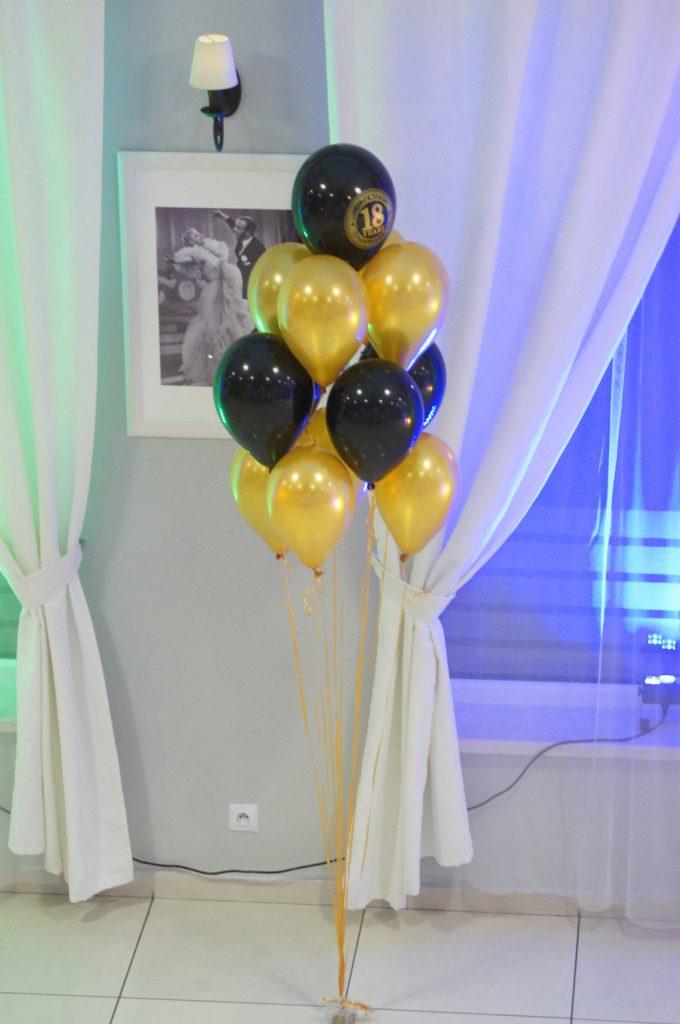 Dekoracje balonowe sal na 18-stkę, wesele, urodziny, bal, Koło, Turek, Kłodawa, Sompolno, Konin, Ślesin