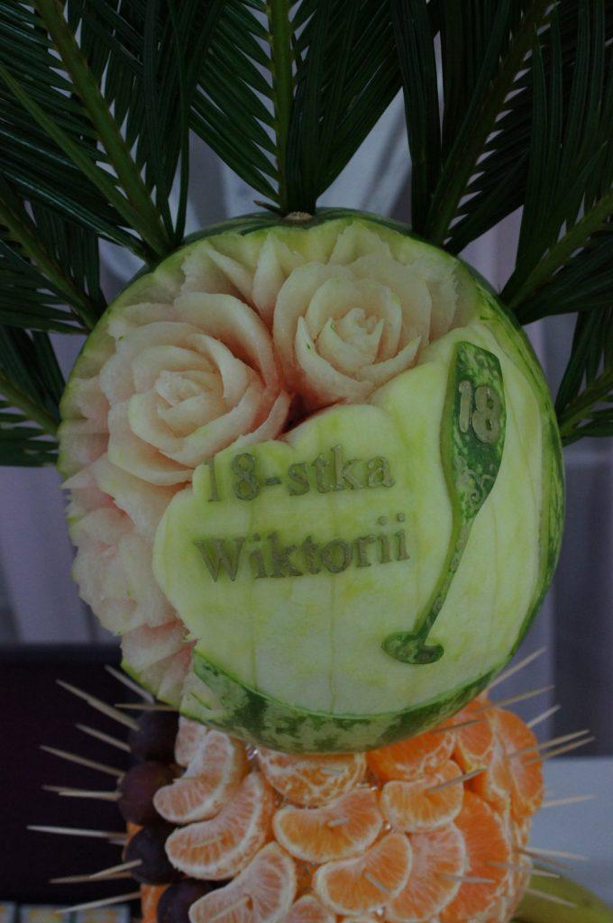 carving, dekoracje owocowe Koło, Konin, Turek, Sompolno
