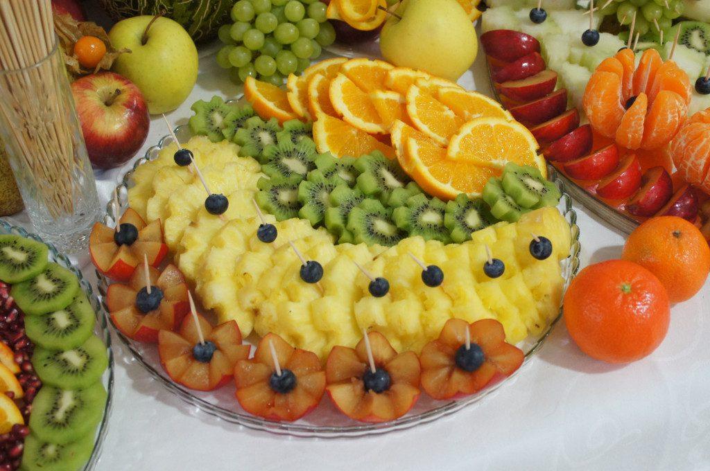 owoce na wesele, 18-stkę, dekoracje owocowe, fontanna czekoladowa, Turek, Koło, Ślesin, Sompolno