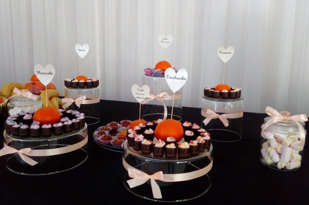 słodki stół, candy-bar Ligrana Palace