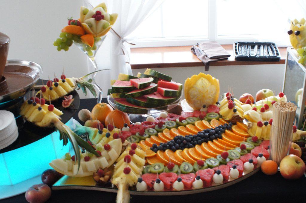 Bufet owocowy, dekoracje owocowe Koło, Turek, Kłodawa, Konin