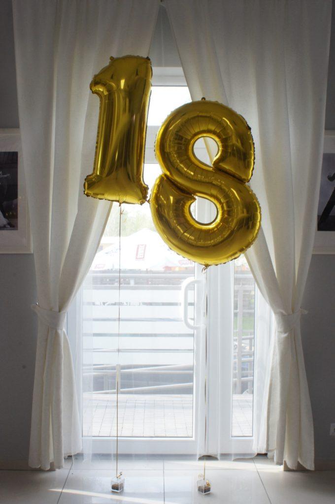 balonowe cyfry z helem, dekoracje balonowe Koło, Konin, Turek, Kłodawa