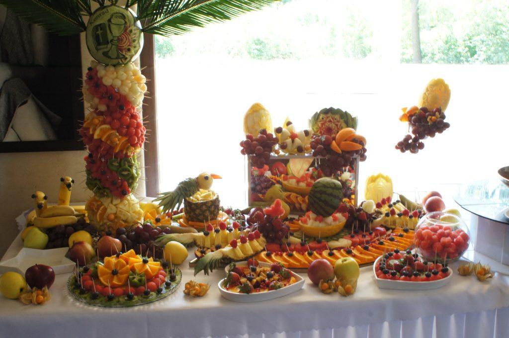 bufet owocowy na komunię, Klisza Wola Grzymkowa