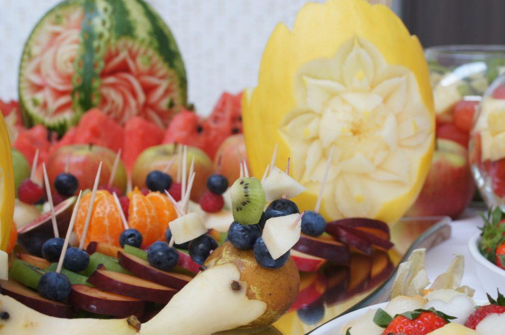 carving, kosze owocowe, stół owocowy, bufet owocowy Koło, Konin, Turek, Kłodawa