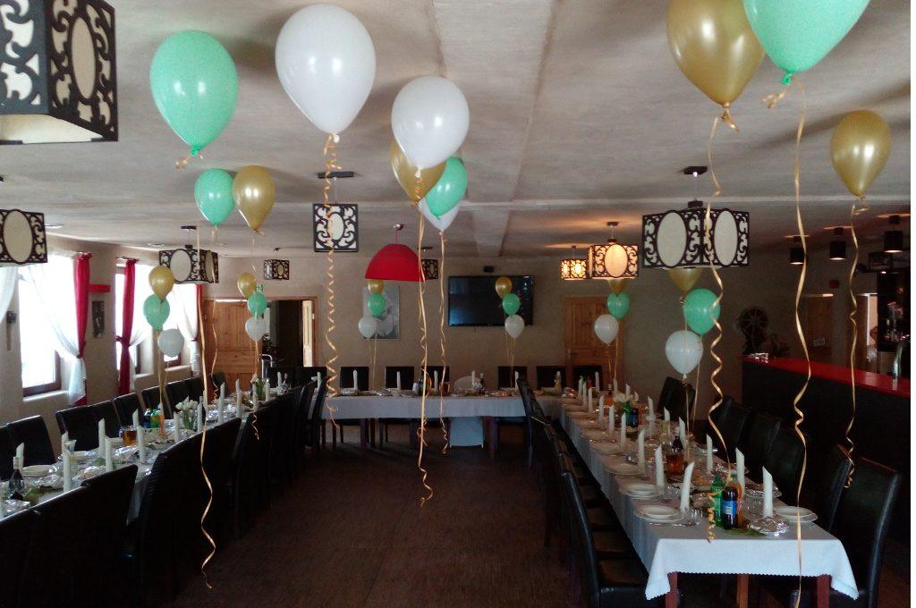 dekoracje balonowe sal Turek, Koło, Konin, Kłodawa