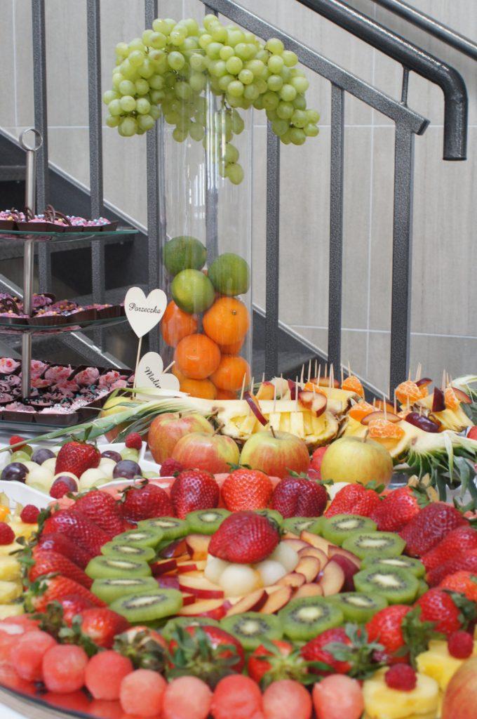 dekoracje owocowe, bufet owocowy, stół owocowy Koło, Konin, Turek, Kłodawa