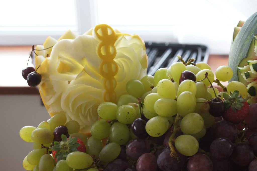 dekoracje owocowe, stoły z owocami, bufety owocowe Koło, Konin, Turek, Kłodawa, Słupca