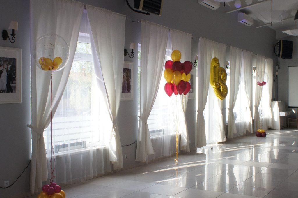 dekoracje sal balonami, dekoracje balonowe, balony z helem Koło, Konin, Turek, Kłodawa