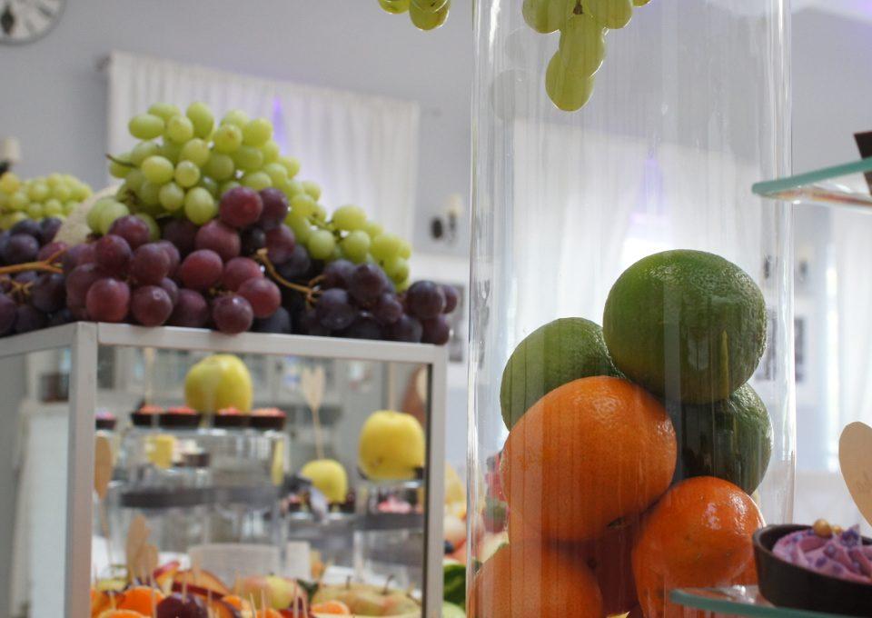 dekoracje z owoców, bufet owocowy, carving Koło, Konin, Turek, Kłodawa