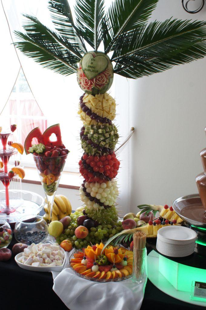 palma owocowa, palma z owoców Koło, Turek, Konin, Słupca