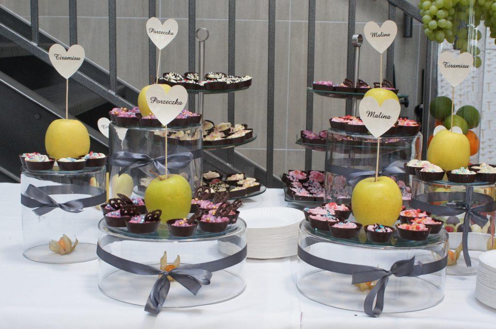 słodki stół - candy bar, słodkości na wesele, jubileusz, bankiet Koło, Konin, Turek, Kłodawa