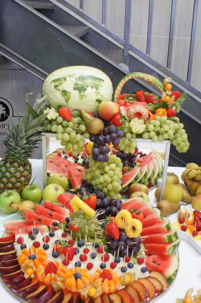 stół owocowy, tace owocowe, dekoracje owocowe Koło, Konin, Turek, Kłodawa, Sompolno