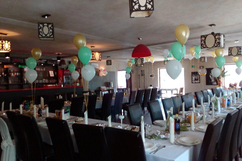 stroiki balonowe, dekoracje balonowe Klisza, Wola Grzymkowa