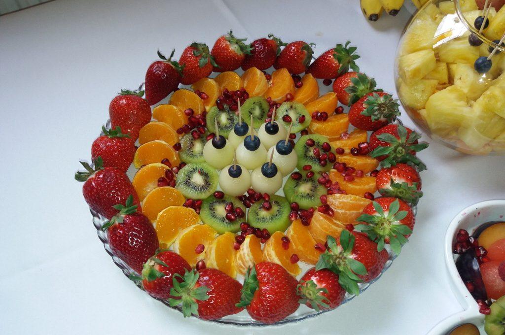 tace owocowe, stół owocowy Turek, Kłodawa, Sompolno