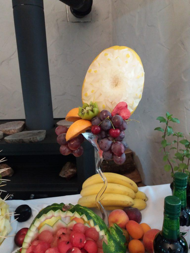 carving, dekoracje owocowe Koło, Turek, Milicz