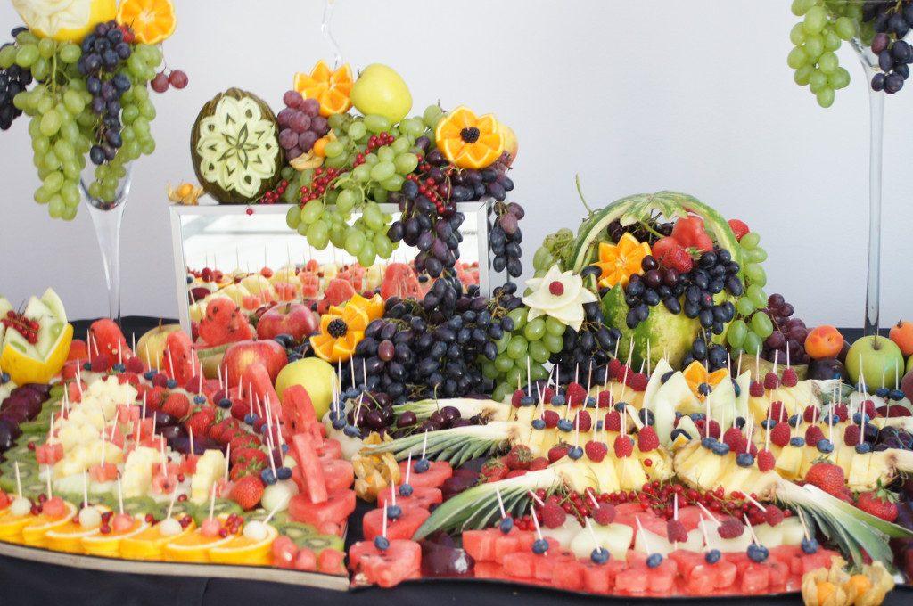 bufet owocowy, stół owocowy, fruit carving Koło, Turek, Łódź, Poznań, Warszawa