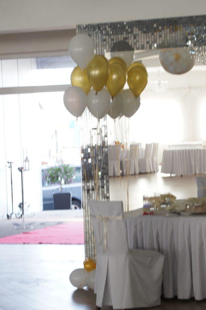 bukiet balonowy na wesele, dekoracje balonowe Turek, Koło, Konin, Łódź