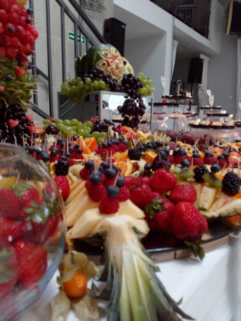 dekoracje owocowe, fruit carving, fruit bar Łódź, Turek, Koło, Kalisz, Łódź