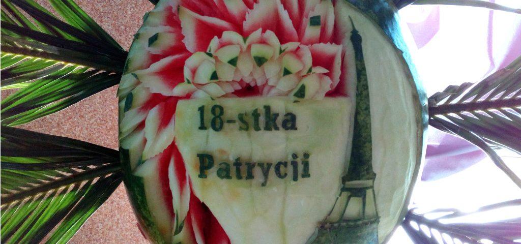 fruit carving, dekoracje owocowe, fruit bar, bar owocowy Turek, Koło, Konin, Kłodawa, Mostki