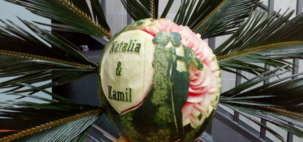 fruit carving, dekoracje owocowe, stół owocowy Koło, Turek, Kłodawa, Konin, Słupca, Łódź, Włocławek