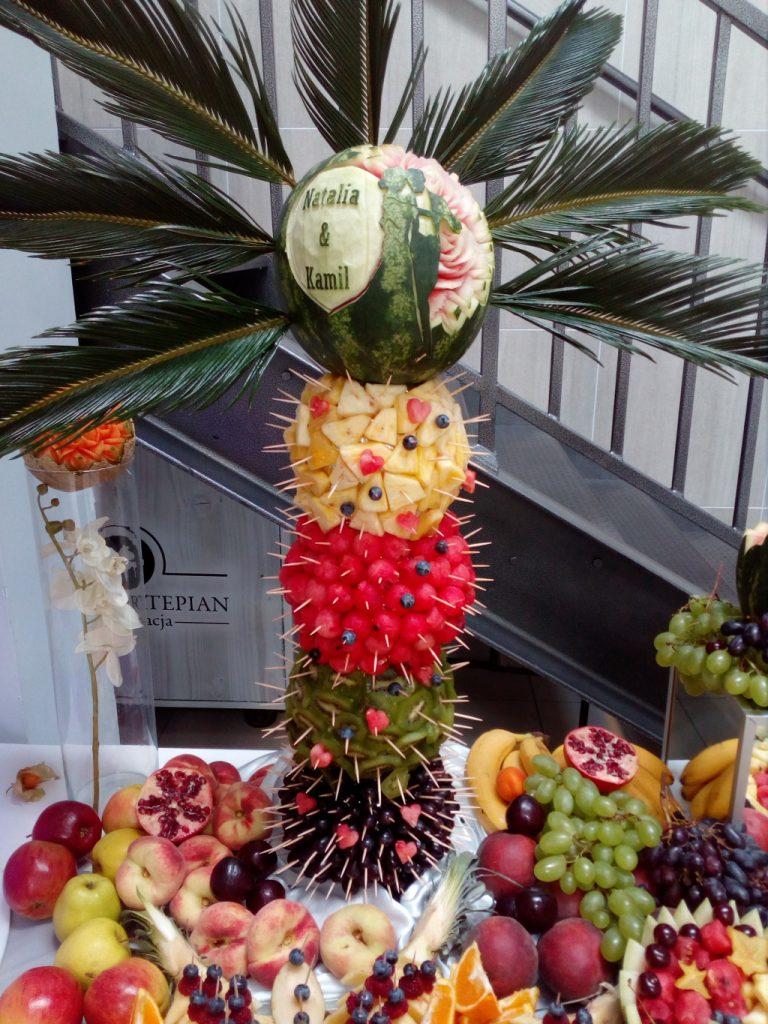 palma owocowa, palma z owoców, Włocławek, Turek, Kalisz, Łódź