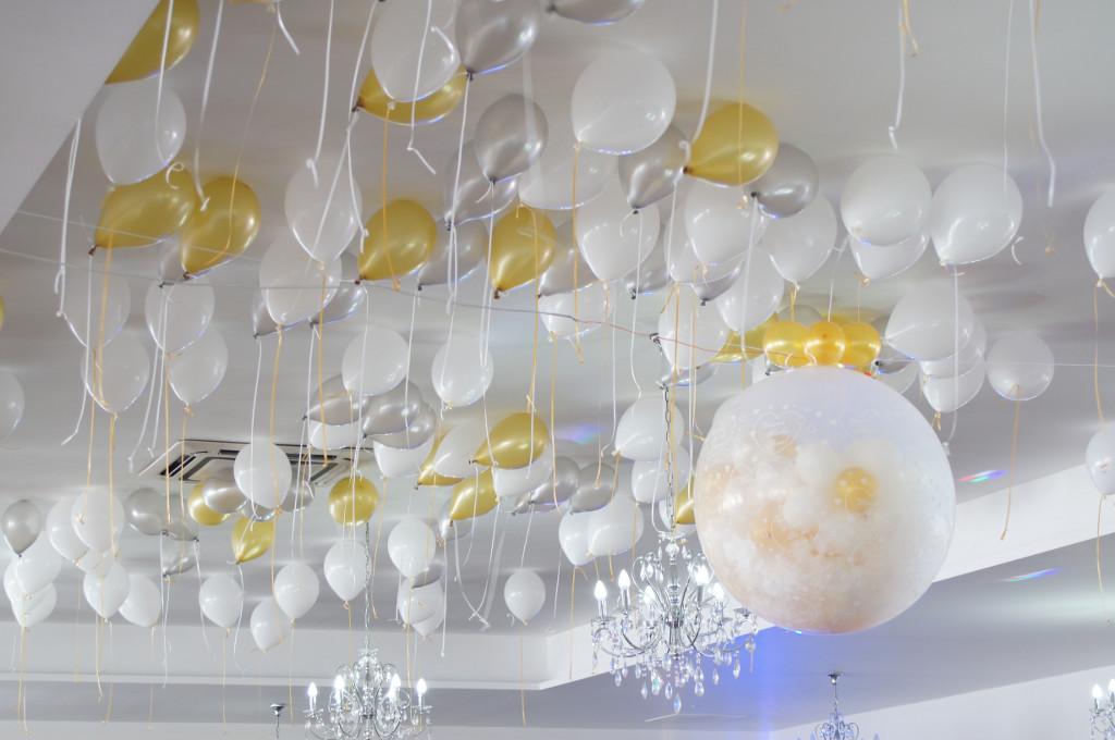 strzelający balon, balon Gigant, dekoracje balonowe, balony z helem Turek, Koło, Konin, Hacjenda Malanów
