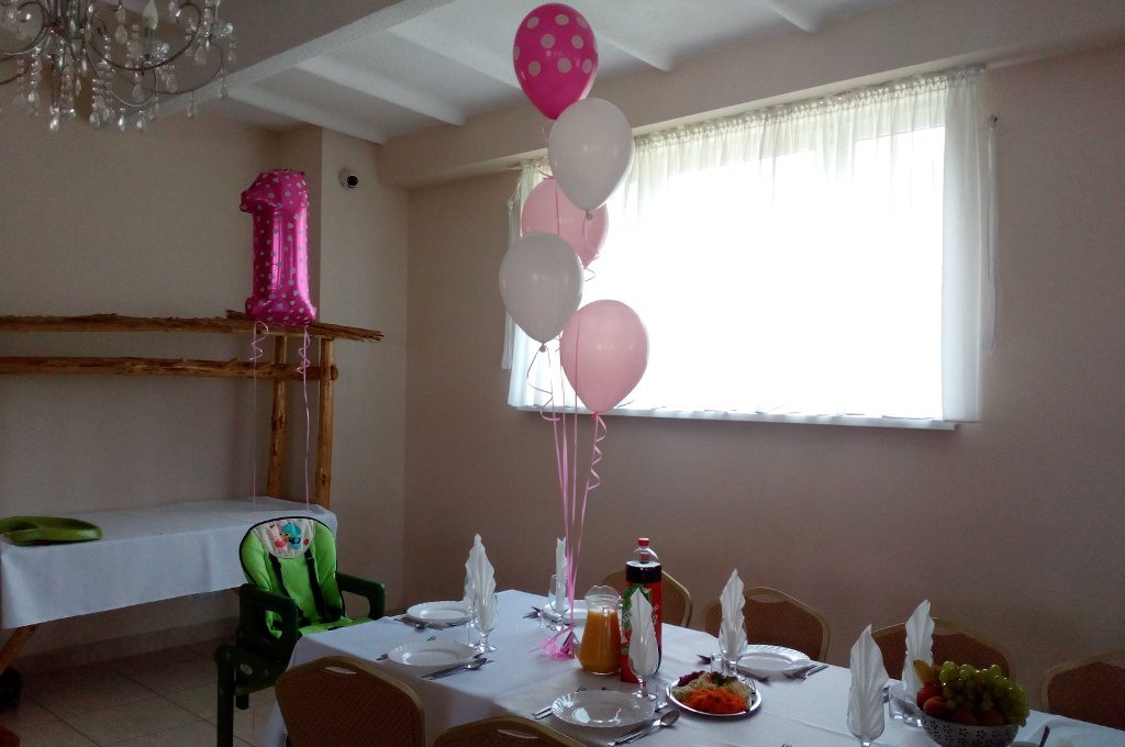 balony na roczek, balony z helem na imprezę