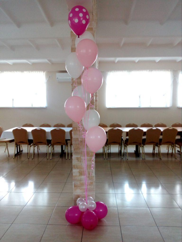 balony z helem, dekoracje balonowe, bukiety balonowe
