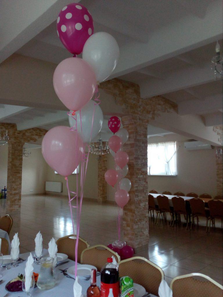 bukiety balonowe, dekoracje balonowe, dekoracje z balonów