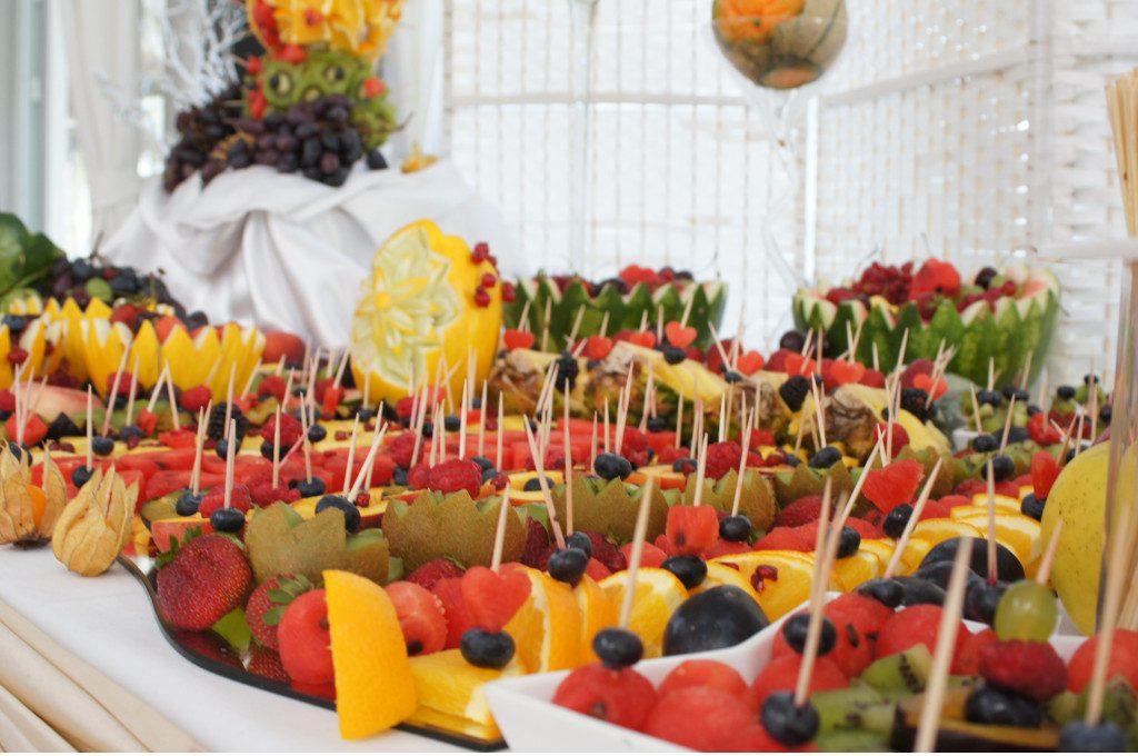 fruit bar, fontanna czekoladowa Biały Fortepian Koło