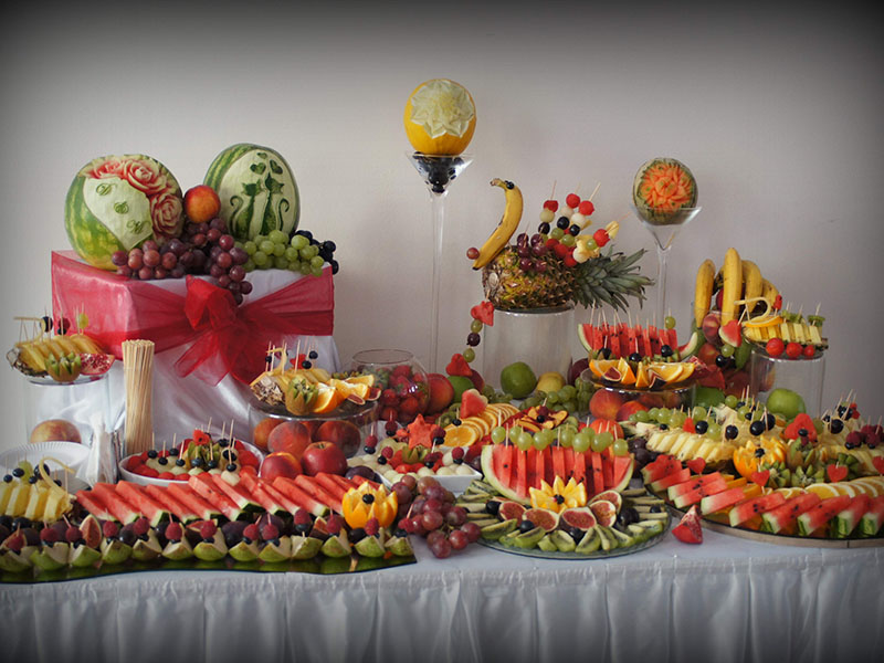Stół owocowy