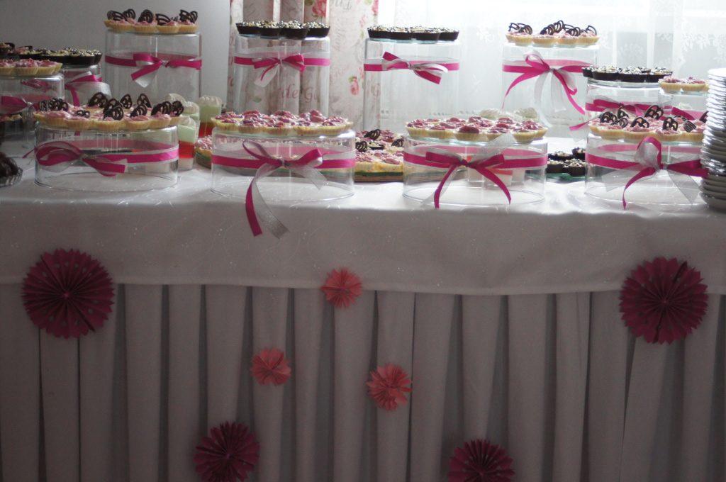 candy bar, słodki stół na wesele, bankiet, event