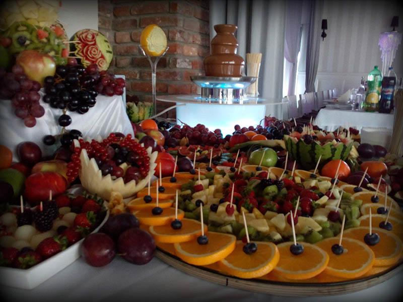 Owocowe stoły