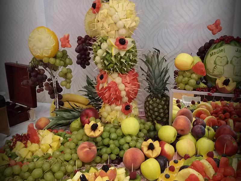 palmy owocowe i owocowy bufet