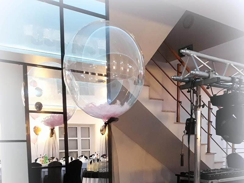 dekoracje balonowe na 18stke-wesele-bal-karnawałowy sylwestra balony z helem