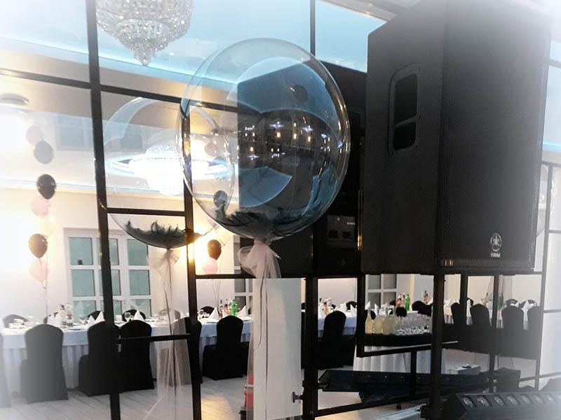 dekoracje balonowe na 18stke wesele bal karnawałowy sylwestra balony z helem Koło Turek Konin Klodawa