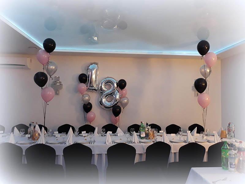 Dekoracje balonowe na imprezie