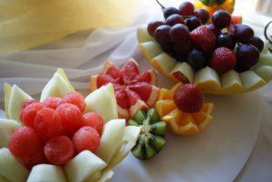 Dekoracje owocowe Sala Bankietowa Mario w Zegrzu
