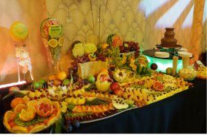 STÓŁ OWOCOWY kALISZ, STÓL OWOCOWY, bufet owocowy, dekoracje owocowe