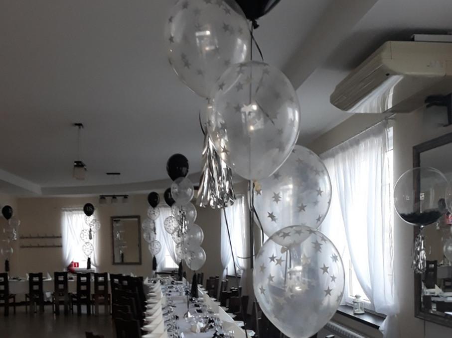 balony 18, balony na 18stkę, dekoracje balonowe, balony z helem turek, Łódź, koło, konin