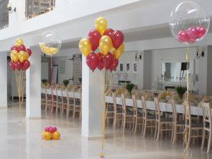 balony na 18stkę, balony na wesele, dekoracje balonowe, balony z helem turek, Łódź, Biały Fortepian koło, konin, kalisz